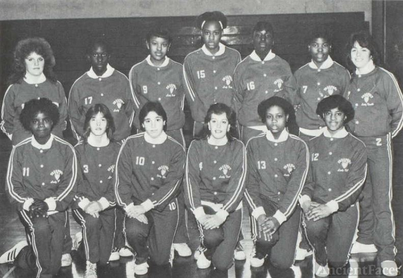 1983 Freeport High School Girls' J.V. Basketball