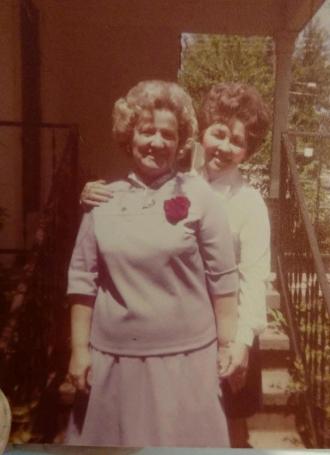 Mildred McGraw and  Pauline Evans
