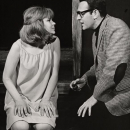 Barbara Harris and Larry Blyden in THE APPLE TREE.