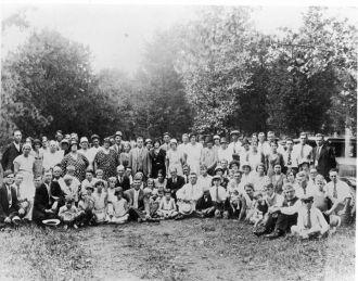 Light & Link Family Reunion, Virginia 1933