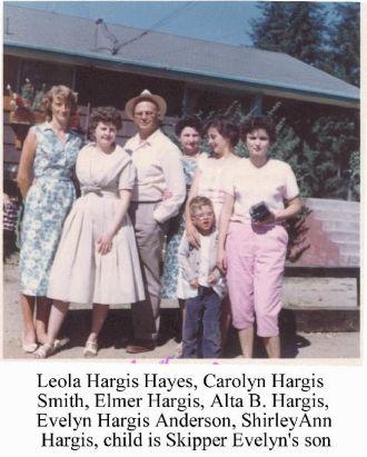 Hargis's in Washington State visiting
