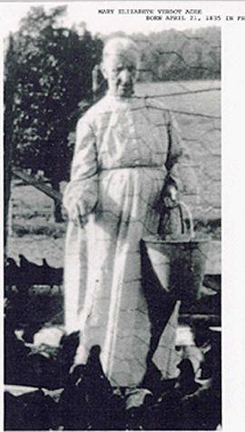 MARY ELIZABETH VERDOT AGEE
