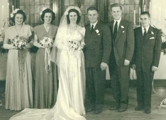 Mr&Mrs Fred Wahl Wedding Party