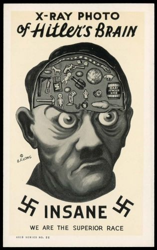 Anti-Hitler World War II poster
