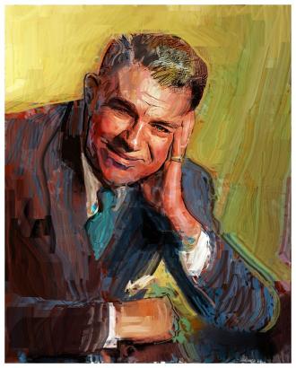 Oscar Greeley Hammerstein II painting