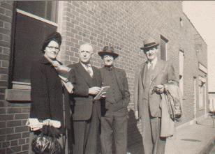 Mr & Mrs Heard, Tom Lane, & D. B. Aycock