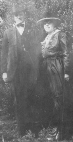 JOSEPH EARNEST BOOTH & NELLIE ROSE MAWYER BOOTH