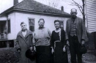 Marthy Jane Glidewell, Mary Champion, Betty and Macon Shell