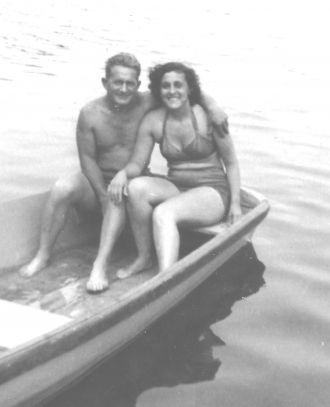 Grace Svendsen and Johannes Olsen