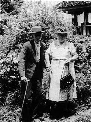 Charles 'Cap' Green Mincey and Nancy Jane Higdon