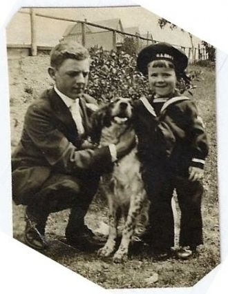 Uncle Edgar and my father