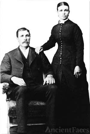 Edwin and Matilda (Roberts) Bodily