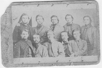 Captured Civil War Raiders