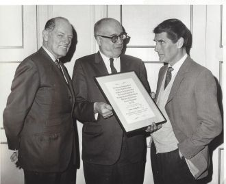 Si Seadler, Nathan Swerdlin, and Peter Glenville