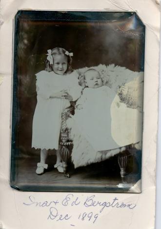 Ina & Ed Bergstrom Dec 1899