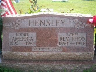 Gravesite - Theo & America