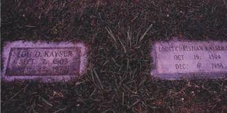 Kayser, Louis C. & Lou D.