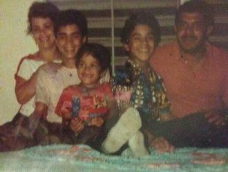 Pedro Cortes-Velez family