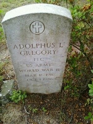 Adolphus L. Gregory gravesite