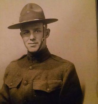 Unknown soldier, 1917