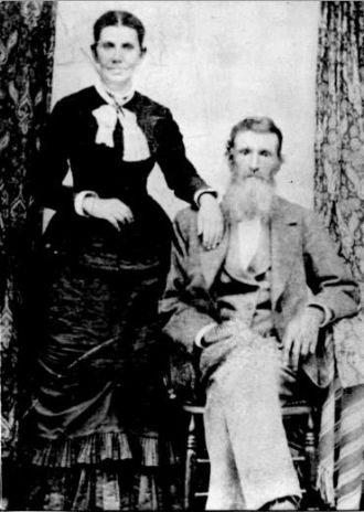 Darius Burns & Eliza Ann Beall
