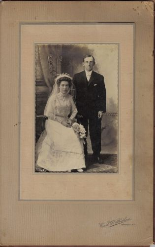 George and Etta's wedding