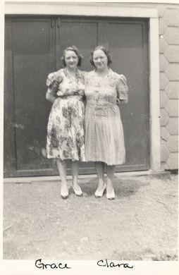 Grace and Clara Carr