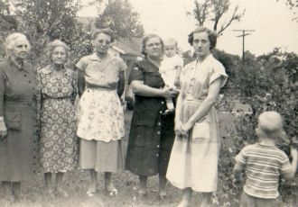 Pinkley Women -  4 Generations