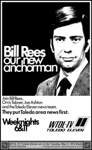 Bill Rees on WTOL-TV