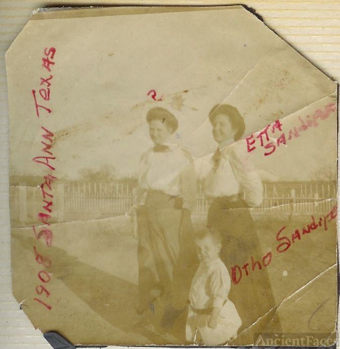 Etta Ann Sandifer and Son Otho 1908