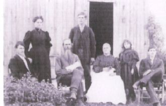 The Family of Jabez Frost and His Wife, Esther Ellen (Root)