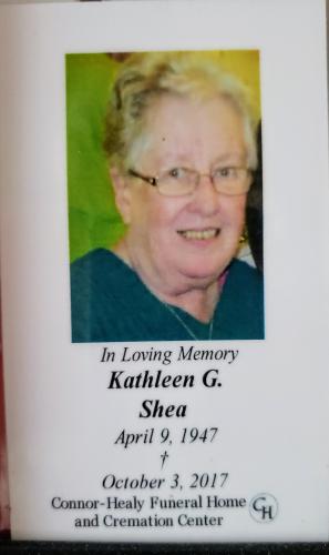 Kathleen's Obituary