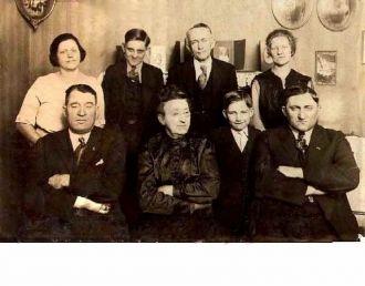 Savoree Family circa 1920