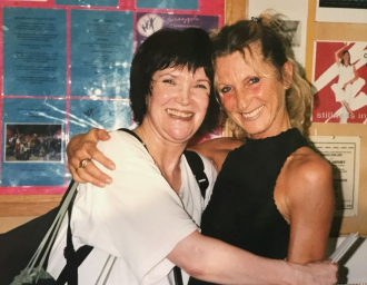 Molly Molloy with Ricki Thompson