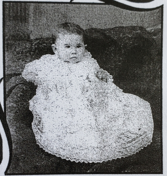 Etta May Pettinger Dufford as a Toddler