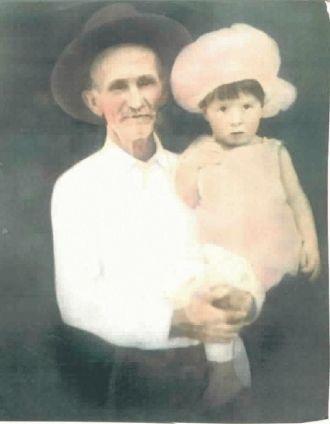 John Newton Corbin with grandaughter