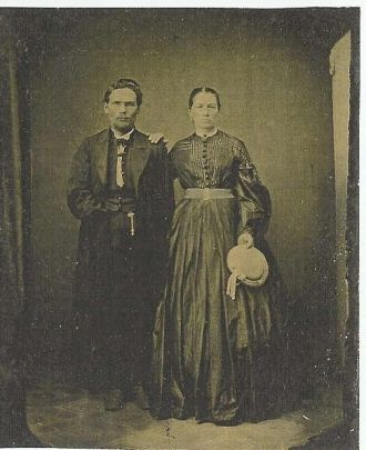 Benton Carl And His 1st Wife On Their Wedding Day