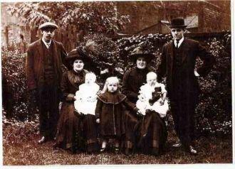 Eva, William, Sarah, & Hannah Hyde