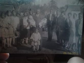 Capp Julius Jefferson & his family
