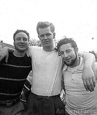 Three Buddies, summer of 1951
