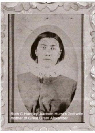 Grandma Ruth (Huntley) Hurst