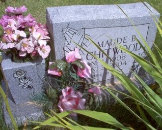 A photo of Maude Bunch (Vann) Chitwood