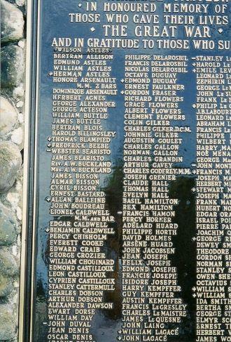 Herman Woodburn Astels monument