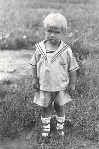 George Melton Parker Jr. abt 1925
