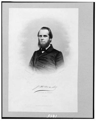J.H. Wade / Ambrotype by Brady ; engd. by J.C. Buttre.