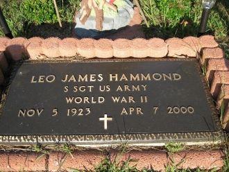 Leo James Hammond gravesite