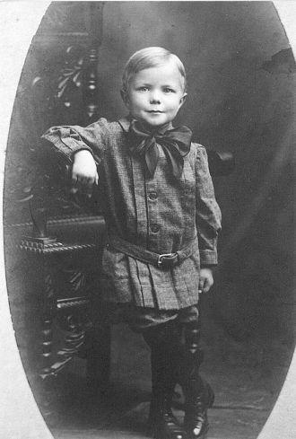 George Palmer's boy