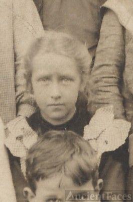 little girl surname White, school