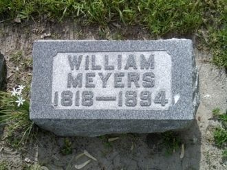 William Conrad Frederick Meyer gravestone