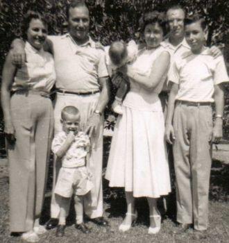 Lewis & Nelson Grubbs Family, California